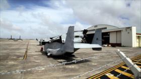 Japón reinicia obras de aeródromo para tropas de EEUU en Okinawa