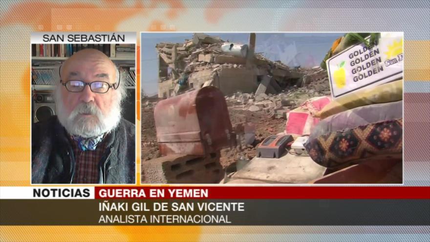 San Vicente: Llamado de paz de EEUU para Yemen es una trampa