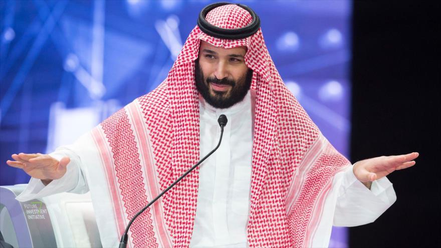El príncipe heredero saudí, Muhamad bin Salman, en el foro de inversores Future Investment Initiative, Riad, 24 de octubre de 2018. (Foto: AFP)