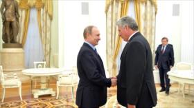 Díaz-Canel discutirá con Putin temas militares en su viaje a Rusia