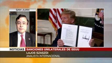 Szaszdi: Irán no permitirá que EEUU estrangule su economía
