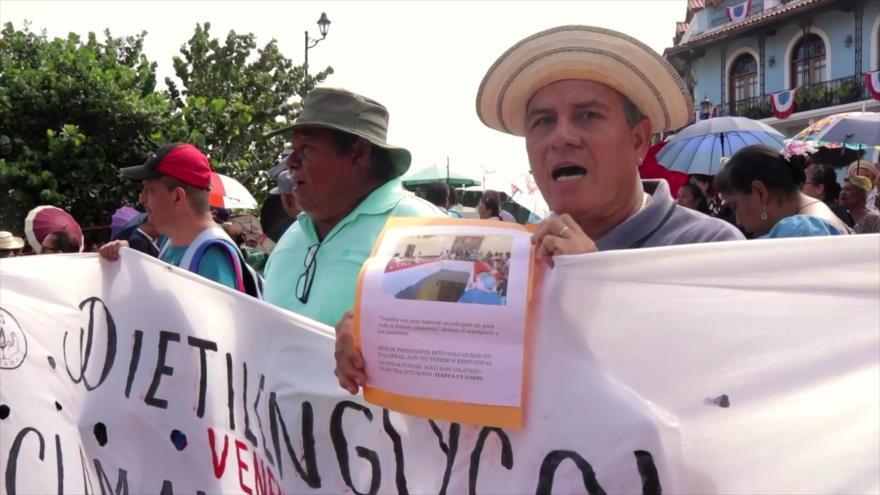 Víctimas de envenenamiento exigen ajuste de pensiones en Panamá