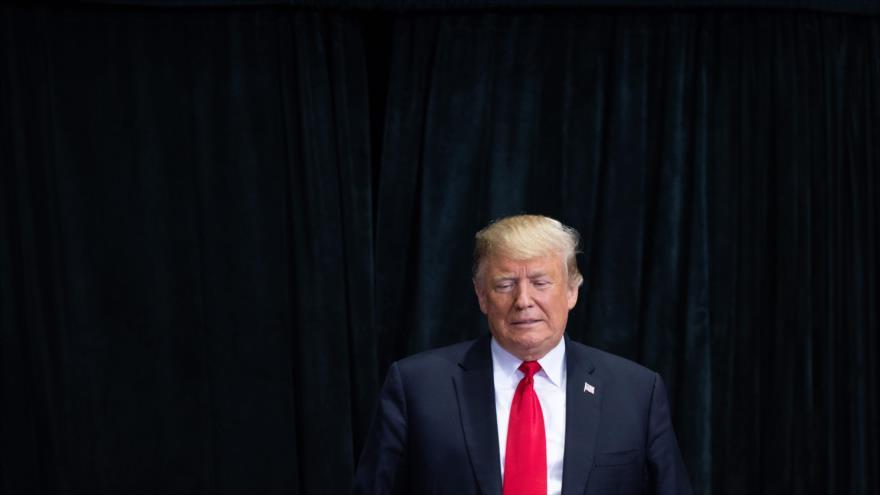 Presidente de Estados Unidos, Donald Trump, 31 de octubre de 2018, (Fuente: AFP)