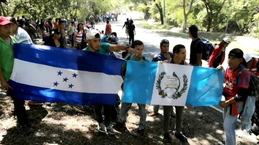 Continúan llegando flujos de hondureños a territorio guatemalteco