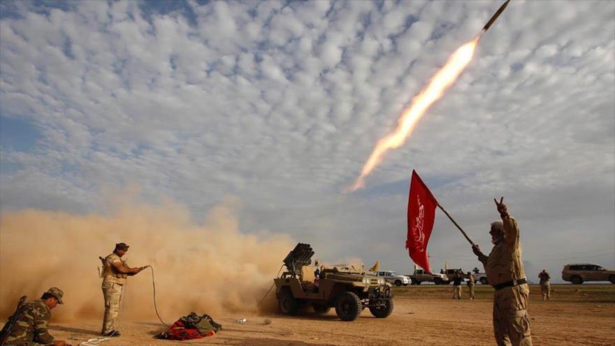 Hezbolá de Irak ataca con misiles a terroristas de Daesh en Siria