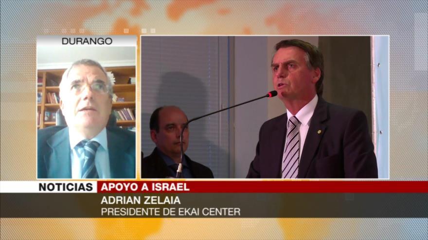 Zelaia: lazos con Israel fue un factor clave en victoria de Bolsonaro