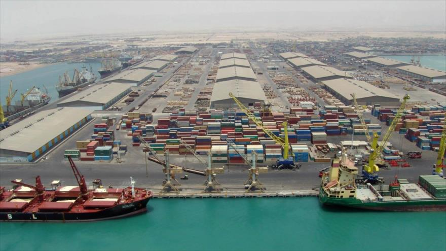 El puerto iraní de Bandar Abás, en el Golfo Pérsico, será el primer destino de mercancías indias para su posterior transporte a Europa con la ruta INSTC.