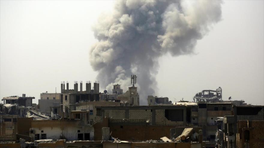Siria pide a la ONU investigar 'sangrientos crímenes de la coalición'