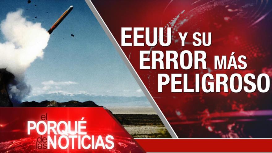 El Porqué de las Noticias: Bolsonaro no reconoce a Palestina como nación. EEUU y el error más peligroso. El mundo apoya el fin del bloqueo de EEUU contra Cuba.