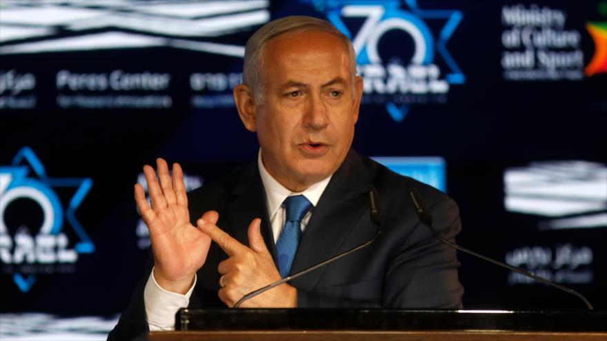 Netanyahu admite estar detrás de acusaciones antiraníes de Dinamarca