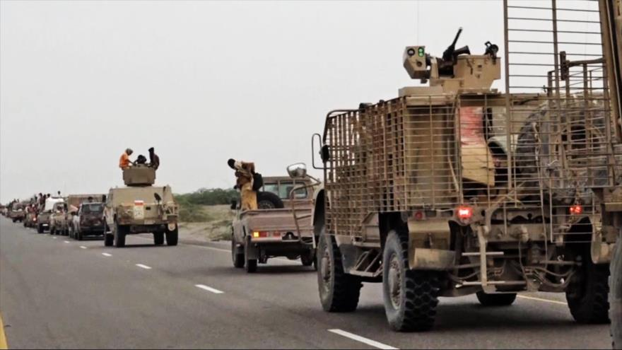 Vídeo: Reforzamiento militar saudí en Al-Hudayda, Yemen