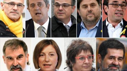 Fiscalía de España pide cárcel para líderes independentistas