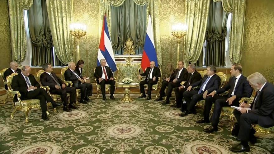 Rusia y Cuba refuerzan sus lazos bilaterales