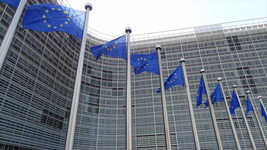 Sede de la Unión Europea (UE) en Bruselas, Bélgica.