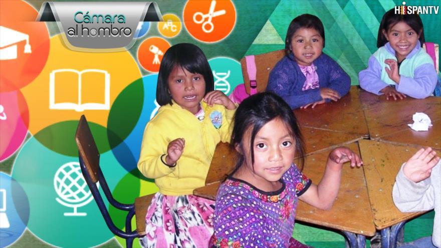 Cámara al Hombro: Guatemala invierte menos en educación en la región centroamericana