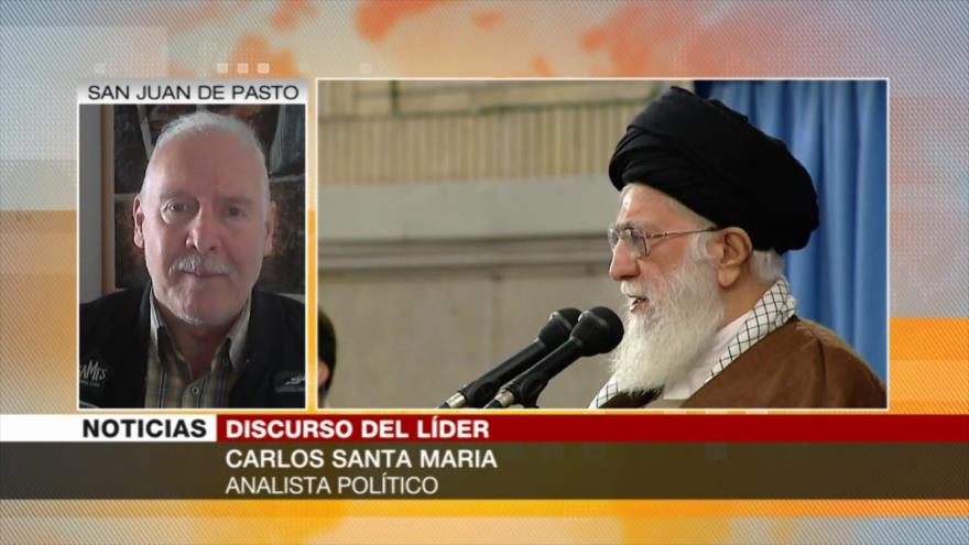 Santa María: Irán es conocido como un país serio y pacífico