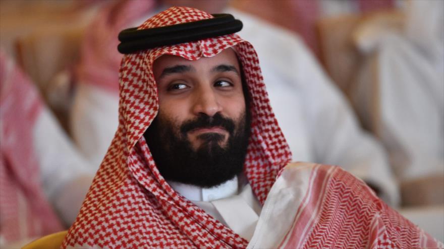 Príncipe heredero saudí, Muhamad Bin Salman, en un foro económico de Riad, capital saudí, 23 de octubre de 2018. (Foto: AFP)