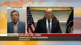 Saavedra: Trump endurece sanciones a Irán para ganar las elecciones