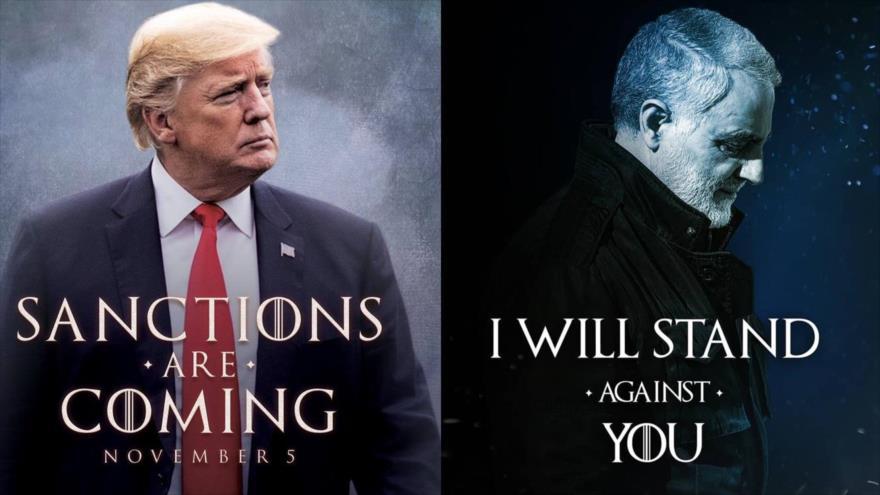 YO PUEDO CONTIGO, le dice a Trump el general iraní Solemani