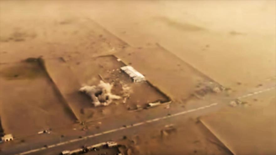Vídeo: Misil balístico yemení golpea centros saudíes en Al-Hudayda