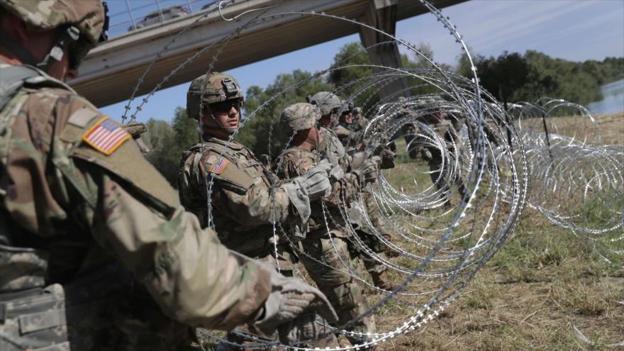 Despliegue militar para frenar migrantes cuesta $ 200 millones