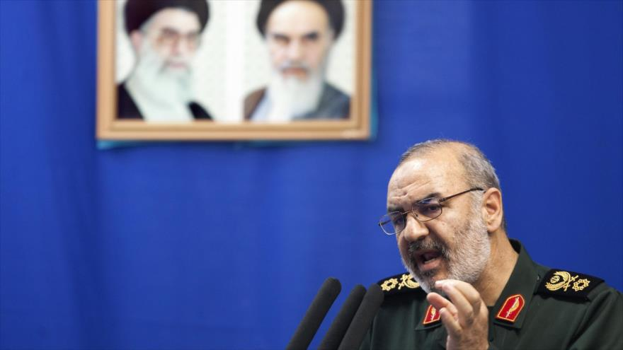El subcomandante del Cuerpo de Guardianes de la Revolución Islámica (CGRI) de Irán, el general de brigada Husein Salami.
