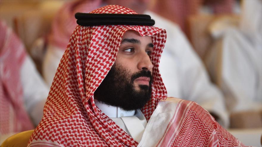 Príncipe heredero saudí, Muhamad Bin Salman, en un foro económico en Riad (capital), 23 de octubre de 2018. (Foto: AFP).