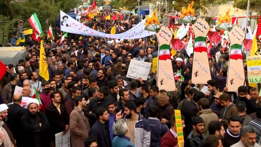 Manifestaciones en todo Irán conmemoran el Día del Estudiante