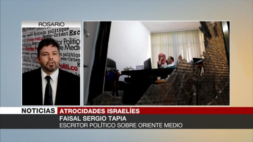 Sergio Tapia: Israel no reconoce ninguna identidad palestina
