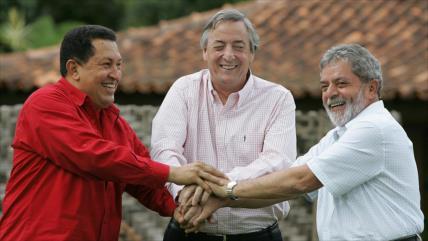 """Maduro califica de """"hazaña histórica"""" la derrota del ALCA"""