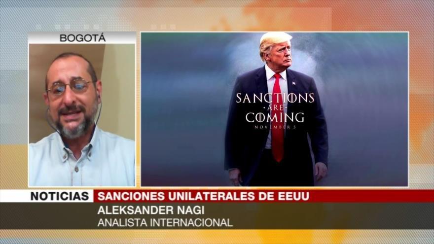Aleksander Nagi: Sanciones de EEUU no asfixiarán a Irán