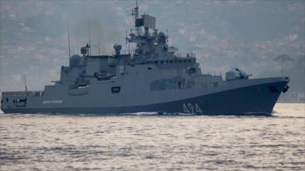 Rusia envía al Mediterráneo su buque de guerra más nuevo