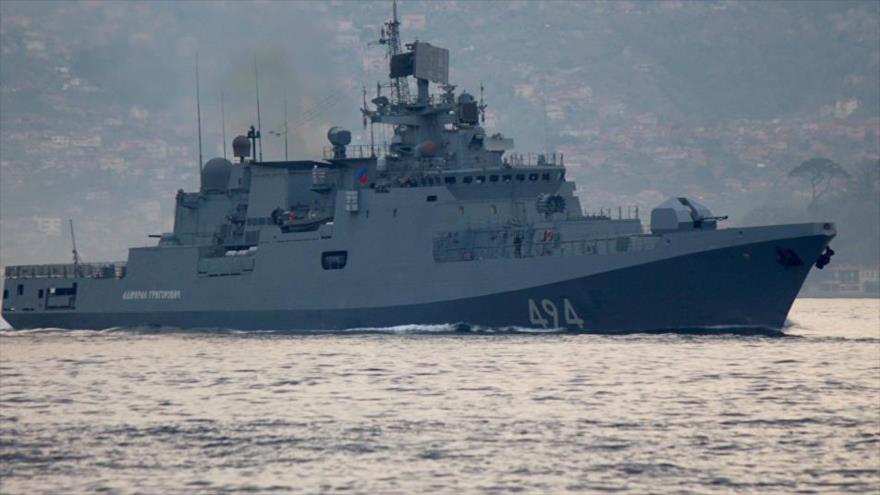 Rusia envía al Mediterráneo un buque con misiles de crucero Kalibr