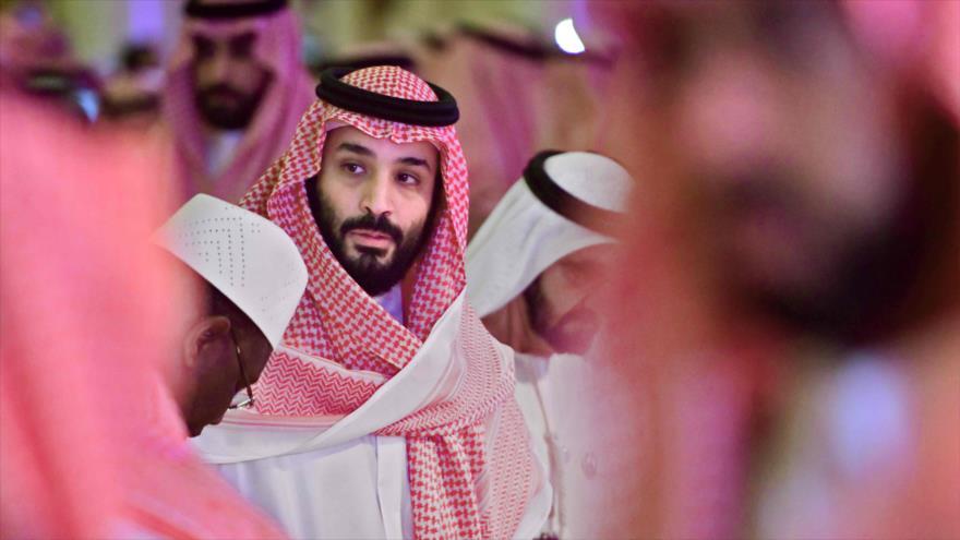 El príncipe heredero saudí, Muhamad bin Salman, asiste a la conferencia de la Iniciativa de Inversión Futura en Riad, 24 de octubre de 2018. (Foto: AFP).