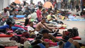 Caravana de migrantes sigue hacia EEUU pese a amenazas de Trump