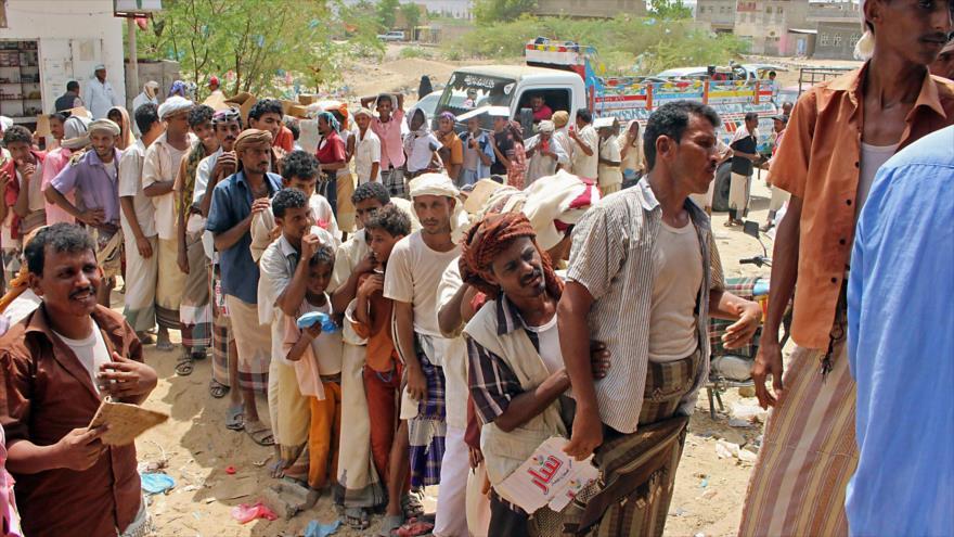 Yemeníes desplazados en la provincia de Hajjah, noroeste del país, 1 de septiembre de 2018. (Foto: AFP).