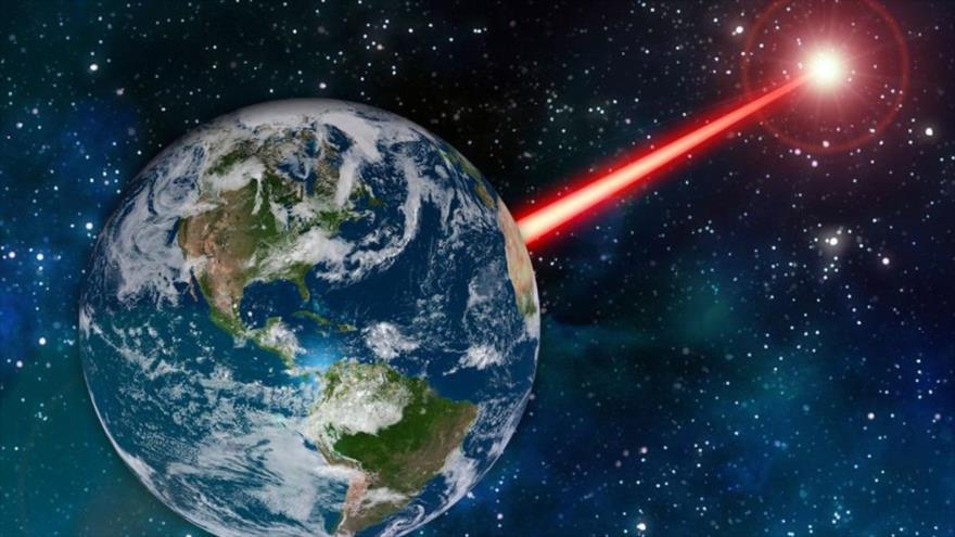 Un estudio propone crear una baliza cósmica, con la tecnología láser.