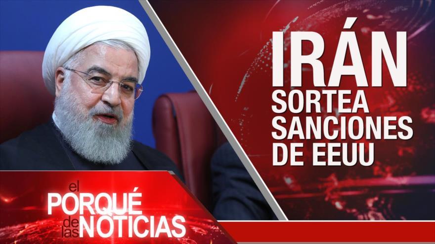 El Porqué de las Noticias: EEUU reimpone sanciones contra Irán. Elecciones intermedias en EEUU. Eliminan pruebas en caso Khashoggi.