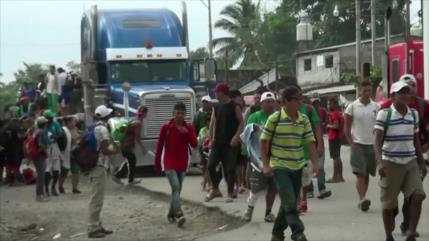 Gobierno de Honduras culpa al Libre de organizar caravana migrante