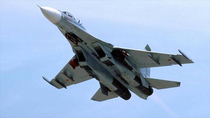 Caza ruso intercepta un avión espía de EEUU sobre el mar Negro