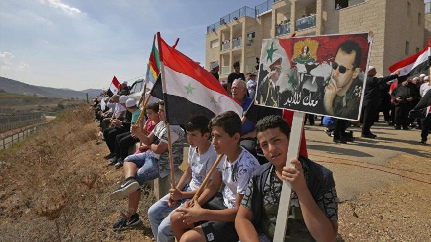 """""""Rechazo de sirios a comicios israelíes promete libertad de Golán"""""""