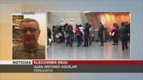 Aguilar: Elecciones de medio mandato, primera gran prueba de Trump