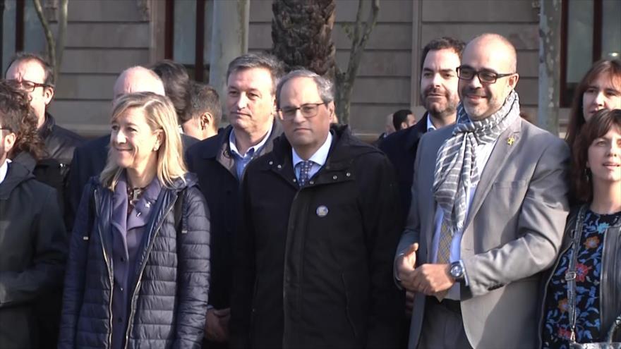 España mantiene represión judicial contra líderes soberanistas