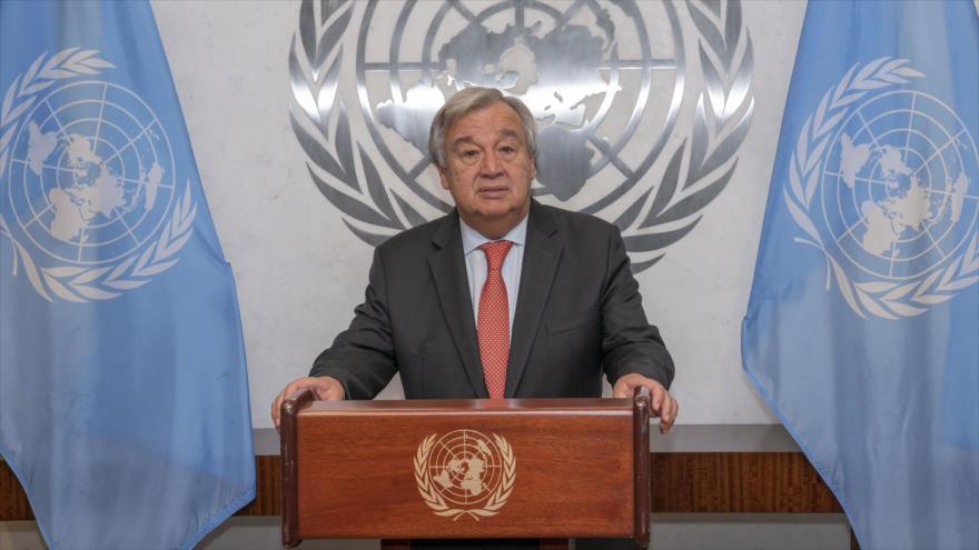 El secretario general de la ONU, Antonio Guterres, en una conferencia de prensa en Nueva York, 5 de octubre de 2018. (Foto: un.org)