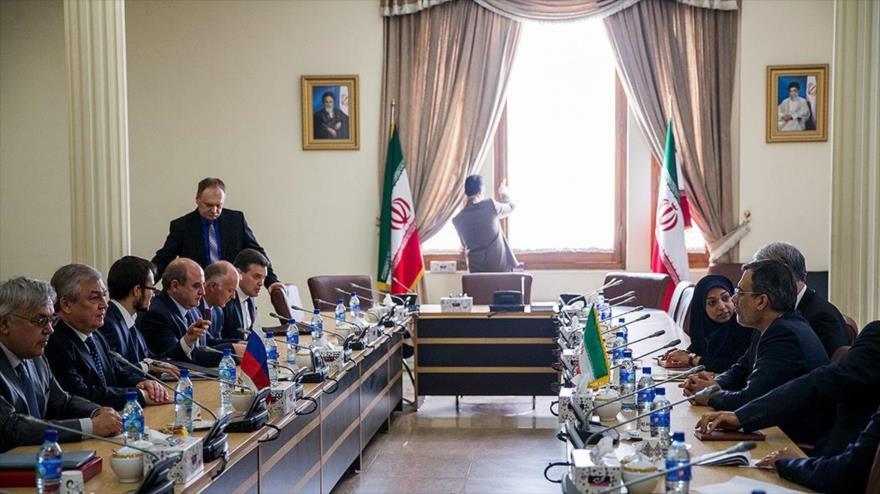 Irán y Rusia apoyan a Siria hasta eliminación total del terrorismo