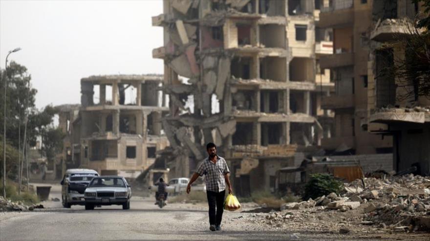 Rusia anuncia retorno de 1,5 millones de refugiados sirios a sus casas
