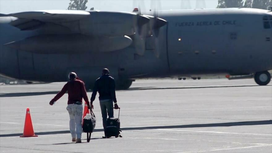 Haitianos repatriados desde Chile: el retorno a la pobreza