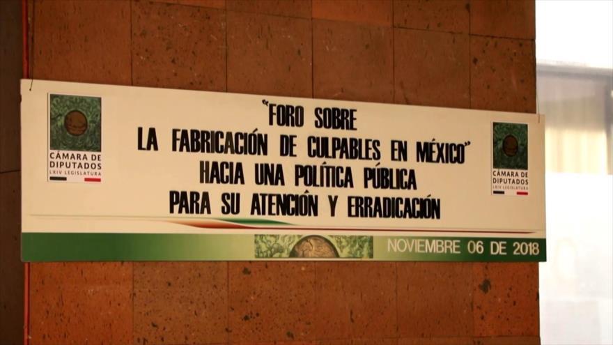 Mexicanos exigen políticas contra fabricación de culpables