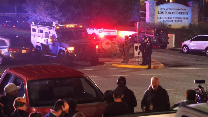 Tiroteo en California deja al menos 12 muertos y varios heridos