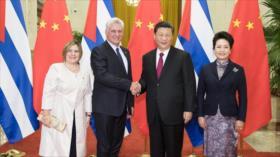China impulsa cooperación con Cuba ante bloque de EEUU